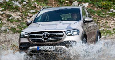 Mercedes GLE 2019 face avant
