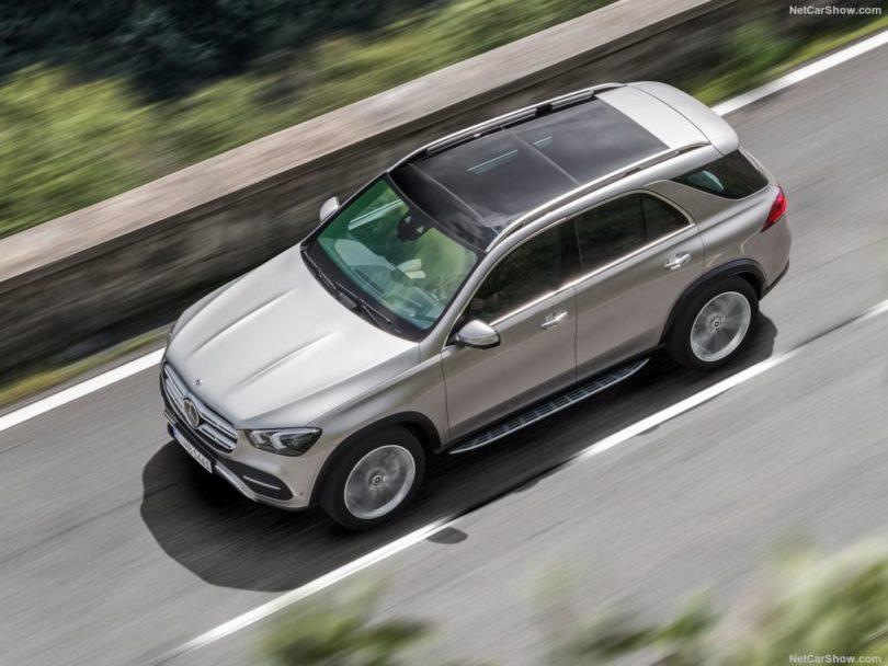 Mercedes GLE 2019 vue du dessus
