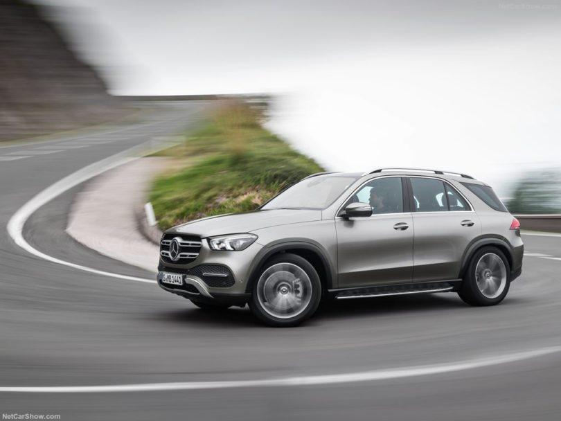 Mercedes GLE 2019 de coté