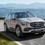 Mercedes GLE 2019 front