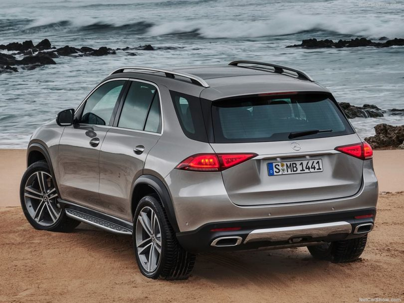 Mercedes GLE 2019 back
