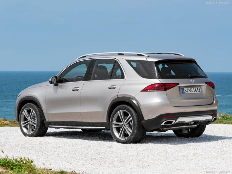 Mercedes GLE 2019 3/4 arrière