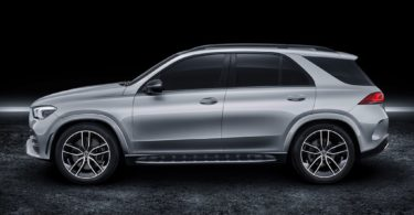 Mercedes GLE 2019 studio de profile
