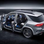 Mercedes GLE 2019 vue intèrieur