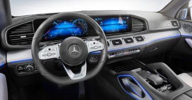 Mercedes GLE 2019 interieur