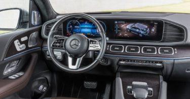 Mercedes GLE 2019 volant