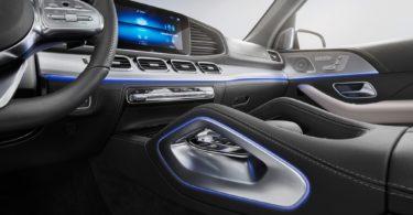 Mercedes GLE 2019 planche de bord