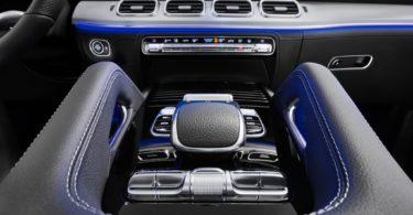 Mercedes GLE 2019 console centrale