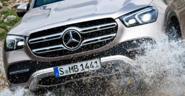 Mercedes GLE 2019 calandre