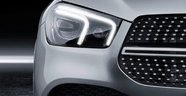 Mercedes GLE 2019 feux led avant