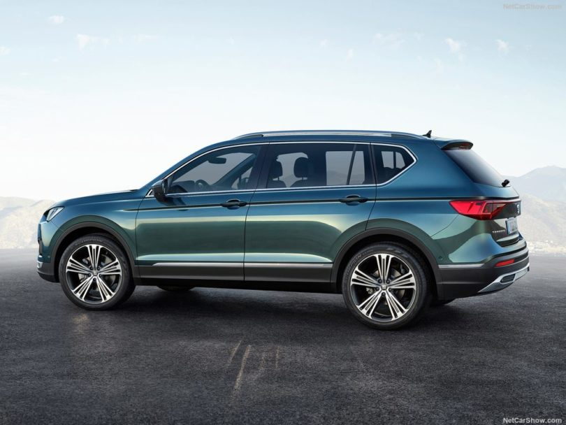 SEAT Tarraco 2019 3/4 arrière
