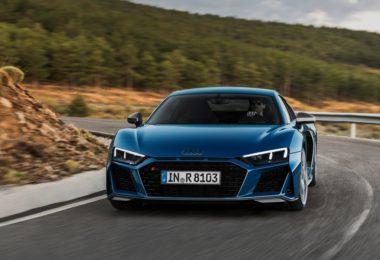 Audi R8 2019 sur route