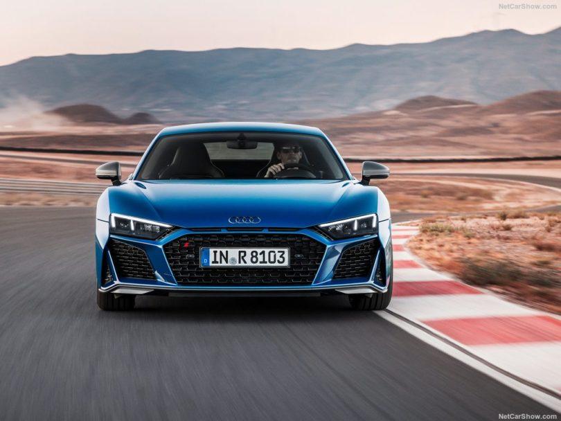 Audi R8 2019 sur circuit