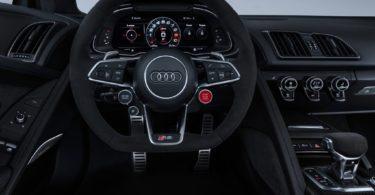 Audi R8 2019 tableau de bord