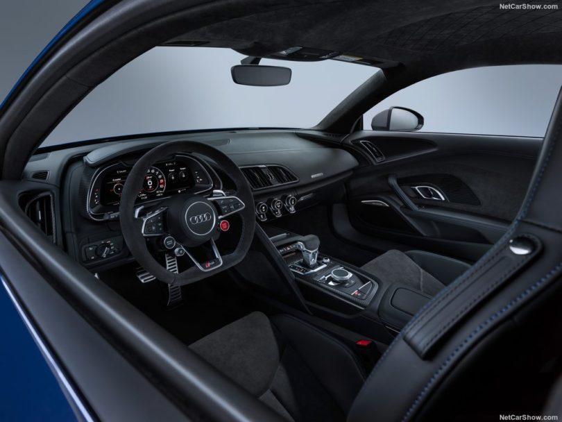 Audi R8 2019 au volant