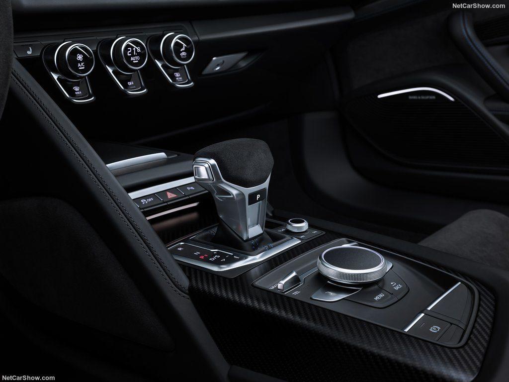 Audi R8 2019 console
