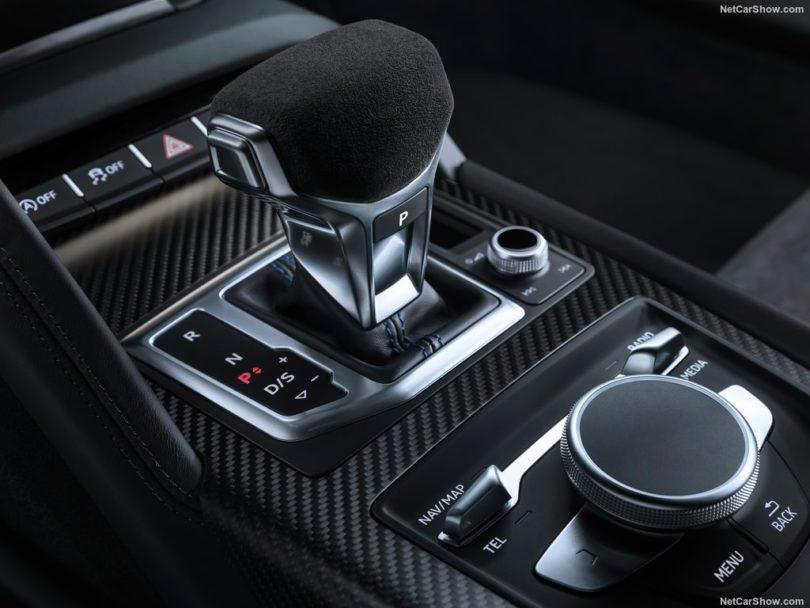 Audi R8 2019 console centrale