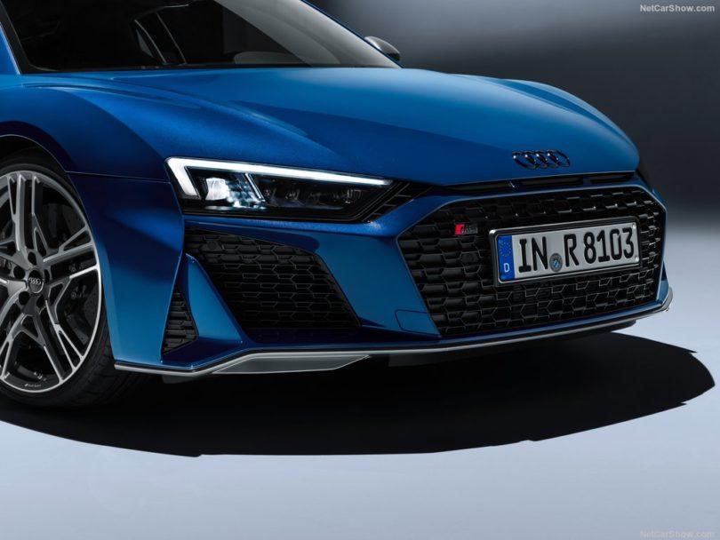 Audi R8 2019 calandre singleframe