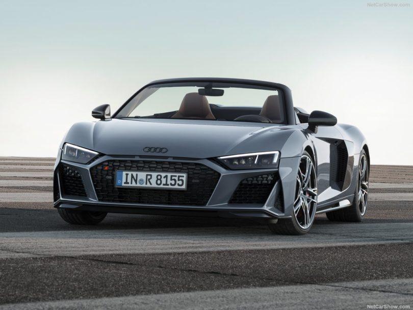 Audi R8 Sypder 2019 sur circuit