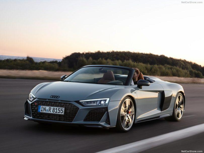 Audi R8 Sypder 2019 face avant