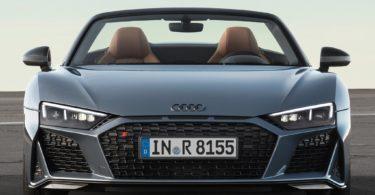 Audi R8 Sypder 2019 avant