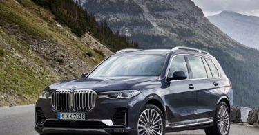BMW X7 2019 3/4 avant