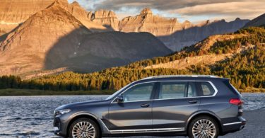 BMW X7 2019 profile gauche