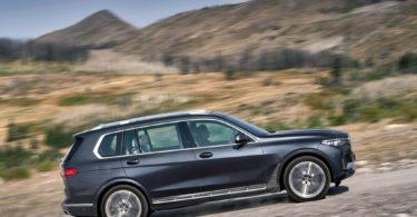BMW X7 2019 profile droit