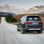 BMW X7 2019 sur la route