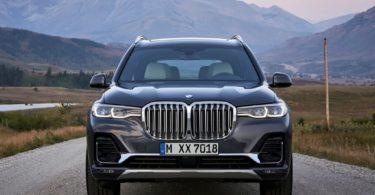 BMW X7 2019 vue avant