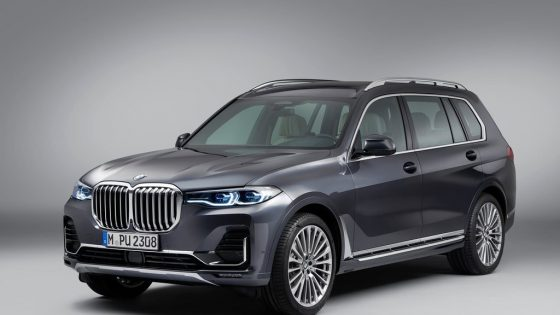 BMW X7 2019 face avant