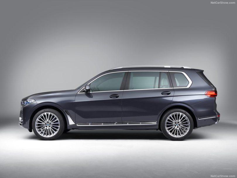 BMW X7 2019 profile