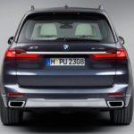 BMW X7 2019 feux arrière