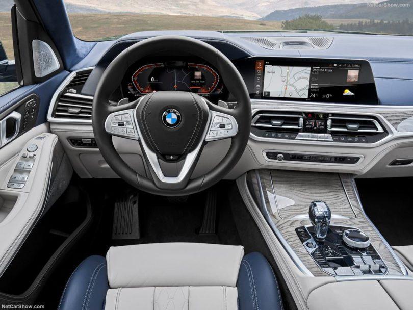BMW X7 2019 au volant