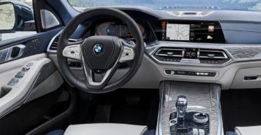 BMW X7 2019 planche de bord
