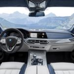 BMW X7 2019 console centrale