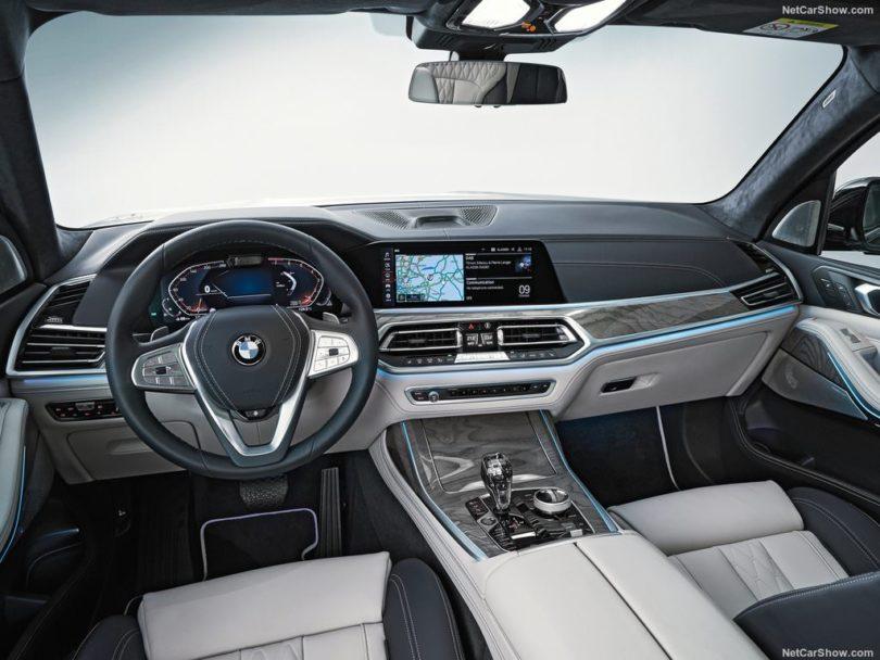 BMW X7 2019 place avant