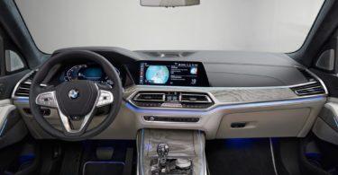 BMW X7 2019 intérieur