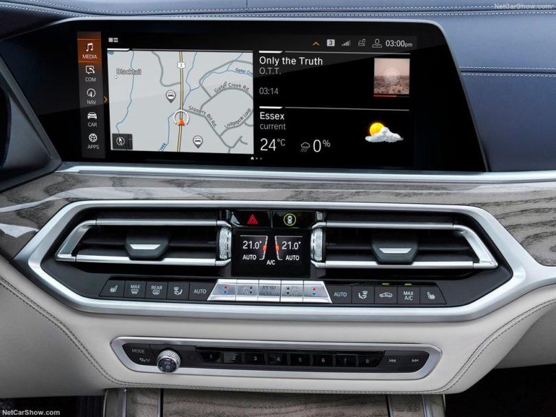 BMW X7 2019 écran