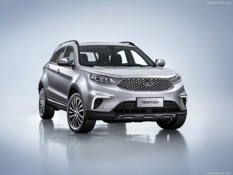 Ford Territory 2019 3/4 avant gris