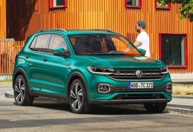 Volkswagen T-Cross 2019 de l'avant