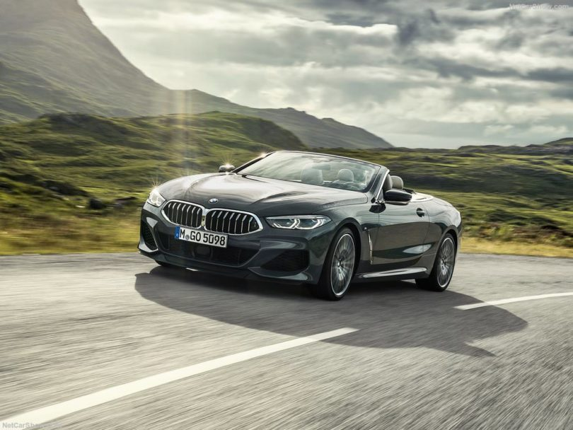 BMW Série 8 Cabriolet 2019 avant