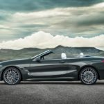 BMW Série 8 Cabriolet 2019 profile capote ouverte