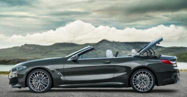 BMW Série 8 Cabriolet 2019 profile ouverture capote