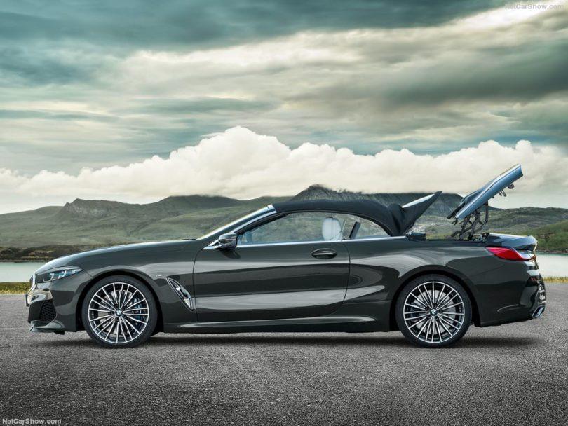 BMW Série 8 Cabriolet 2019 capote fermée