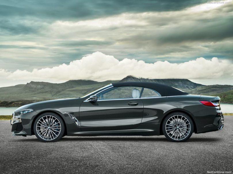 BMW Série 8 Cabriolet 2019 profile fermée