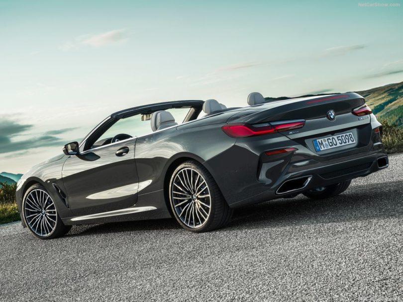 BMW Série 8 Cabriolet 2019 3/4 arrière ouverte