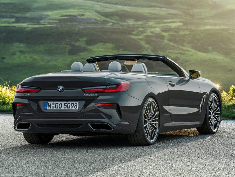 BMW Série 8 Cabriolet 2019 male arrière