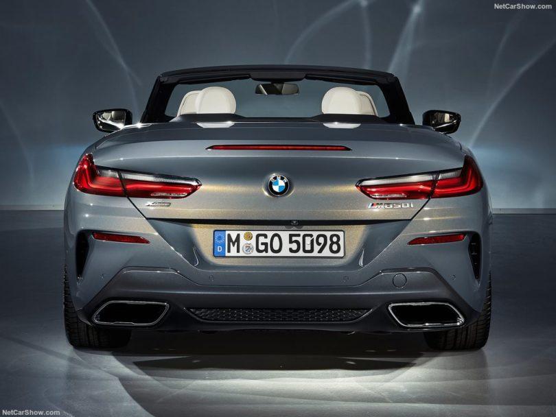 BMW Série 8 Cabriolet 2019 arrière studio
