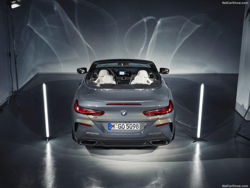 BMW Série 8 Cabriolet 2019 vue dessus